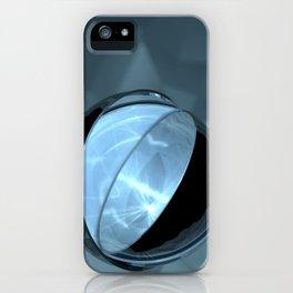 Blue Caustics iPhone Case