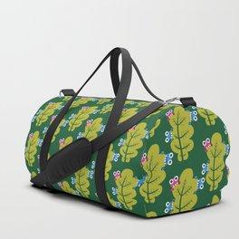 Bugs Eat Green Leaf Duffle Bag