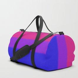 Bisexual Pride Flag Duffle Bag