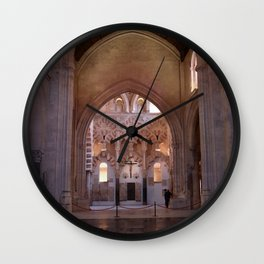 Conjoined Faiths 2 (Mosque-Cathedral of Cordoba) Wall Clock