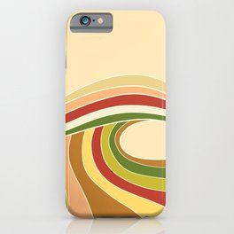 Retro Waves iPhone Case