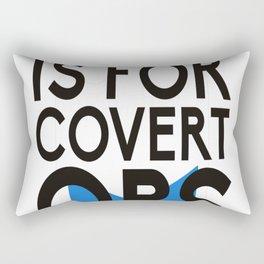 Negev is for Covert Ops Rectangular Pillow