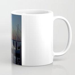 Sunset at Fernandina Harbor Marina Florida Coffee Mug