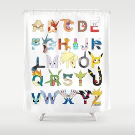 Pokebet Shower Curtain