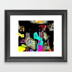 Bent Spots 1 B Framed Art Print