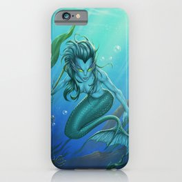 Mermaid's Realm iPhone Case