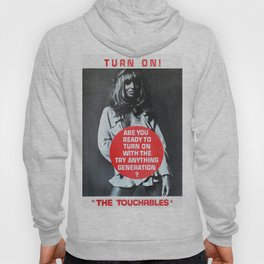 Vintage British exploitation film poster -The Touchables (1968) Hoody