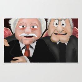 Statler & Waldorf Rug