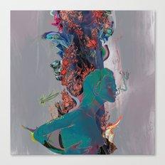 Beneath the Air Canvas Print