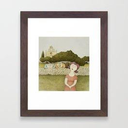 In-Nemmiesa (The Oglers) Framed Art Print