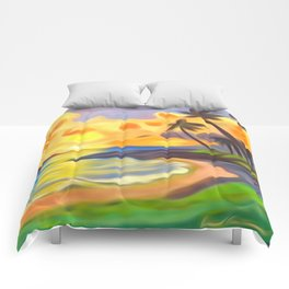 Trade Wind Island Comforters