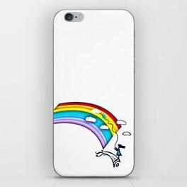 Rainbow Girl iPhone Skin