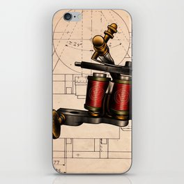 Tools of the trade iPhone Skin