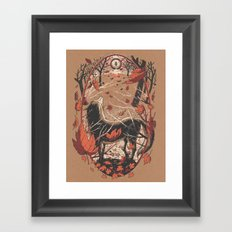 Autumnal Equinox Framed Art Print