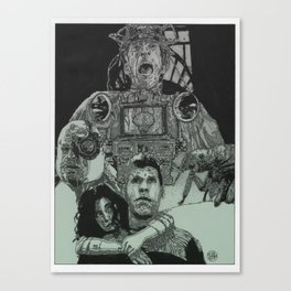 The City of Lost Children (Green Colorway) Canvas Print
