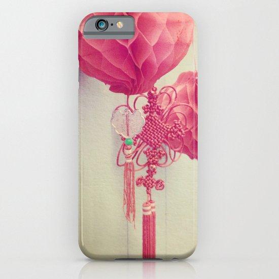 Chinese Lanterns II iPhone & iPod Case
