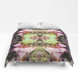 Rainforest Pink Mushroom Comforters