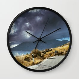 Sky fall Wall Clock