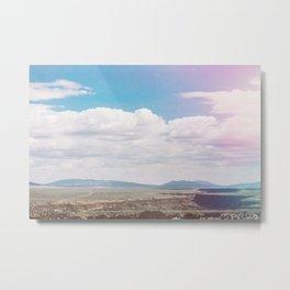 Dry Canyon Metal Print