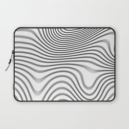 Organic Abstract 02 WHITE Laptop Sleeve