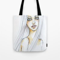 "transparent Tote Bags featuring ""TRANSPARENT"" by AB.13"