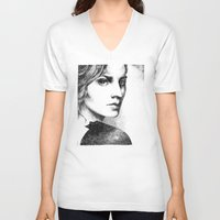 pride V-neck T-shirts featuring Pride by Anna Tromop Illustration