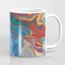 abstract oil pattern Coffee Mug
