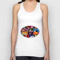 comics Tank Tops featuring Comics by AntWoman