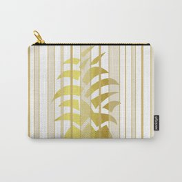 Pineapple Ribbons Carry-All Pouch