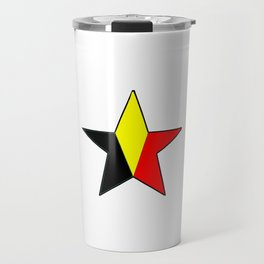 Flag of belgium 6 belgian,belge,belgique,bruxelles,Tintin,Simenon,Charleroi,Anvers,Maeterlinck Travel Mug