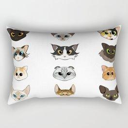 Cats a Plenty Rectangular Pillow