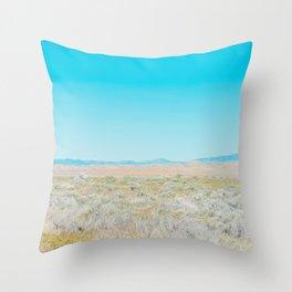 Cloudless Throw Pillow