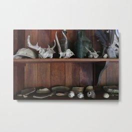 Skulls and Treasure Metal Print