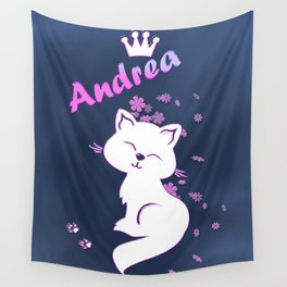 Name Andrea Wall Tapestry