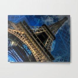Eiffel Deux Metal Print