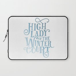 High Lady Winter Court Laptop Sleeve