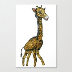 The Hinged Giraffe Canvas Print