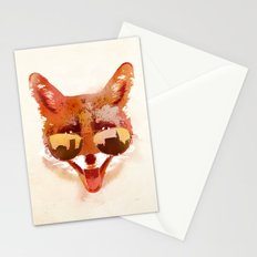 Big Town Fox Stationery Cards