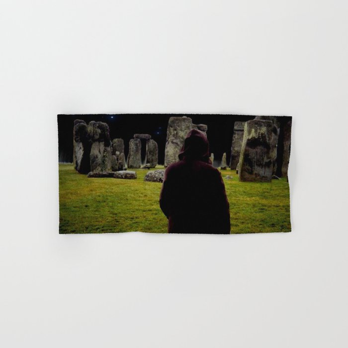 Druid Princess of Stonehenge Hand & Bath Towel