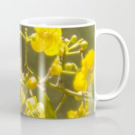 Popcorn Flower Bokeh Delight Coffee Mug