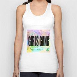 girls gang . Illustration Unisex Tank Top