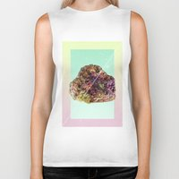 mineral Biker Tanks featuring Mineral Love by Danny Ivan