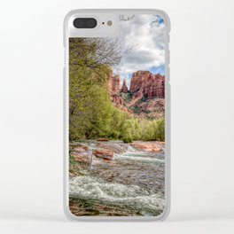 Cathedral Rock, AZ Clear iPhone Case