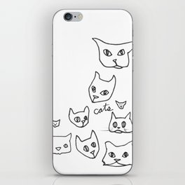 Cats Cat iPhone Skin