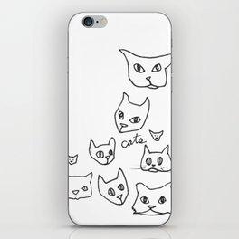 Cats Cat iPhone Skin