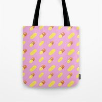 pills Tote Bags featuring Pills by Kelly Gillin-Schwartz