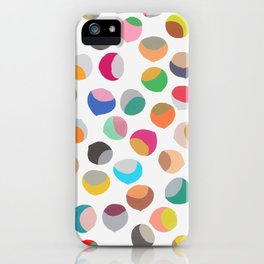 painted chestnuts 1 iPhone Case
