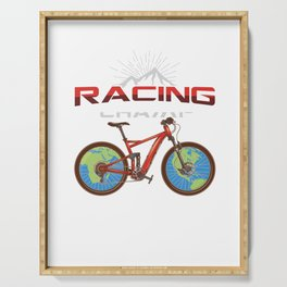 Racing Champ Bike Bicycle Cylist BMX Bikers Bicycling Cycling Exercise Workout Pedal Gift Serving Tray