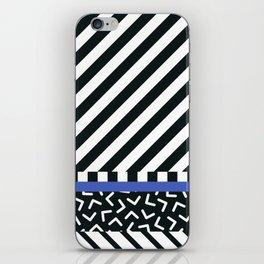 Memphis pattern 89 iPhone Skin