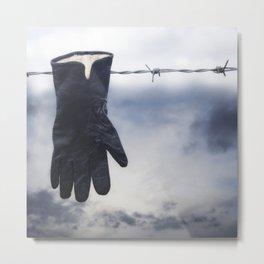 black glove Metal Print